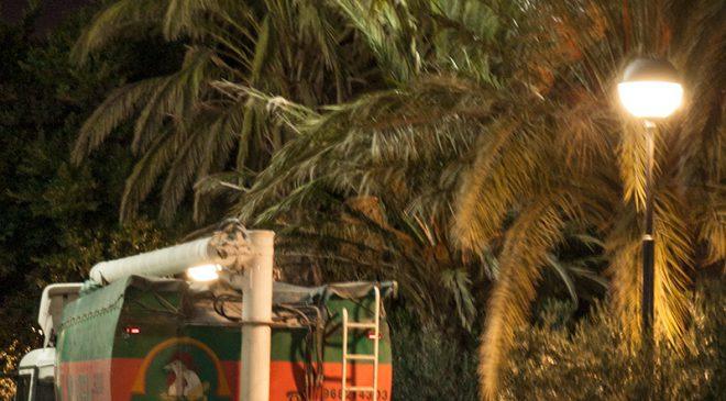 Detalle del proyecto de iluminación LED en Hijos de Juan Pujante Murcia