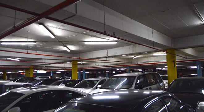 Detalle del proyecto de iluminación LED en Zig Zag Murcia