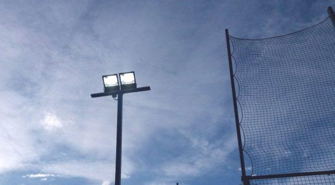 Iluminación LED pistas de padel