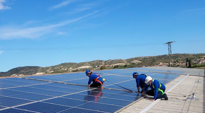 Instalación fotovoltaica - Frutas Juanito - detalle 3