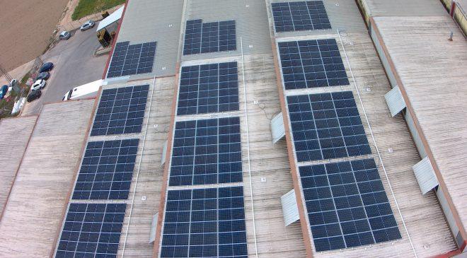 Instalación fotovoltaica - Frutas Juanito - detalle 1
